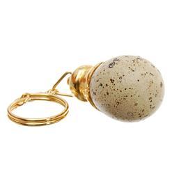 Quail Egg Key Chain with 24k (CLB-455)