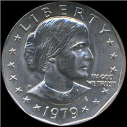 1979D Anthony Dollar Coin Graded GEM (COI-6929)