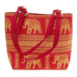 Thai Silk Hand Crafted Elephant Handbag (ACT-225)