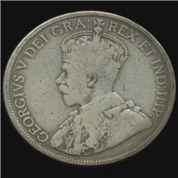 1919 Canada Half Dollar Hi Grade (COI-7014)