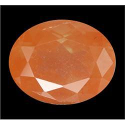 2.80ct Oval Natural Unheated Copper Orange Andesine Appraisal Etimate $825 Appraisal Estimate $1680