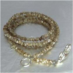 16.06ct Natural Fancy Brown Diamond Necklace Uncut (JEW-1703)