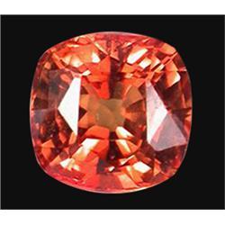 1.51ct Flawless Orange Sapphire Songea (GEM-19876)