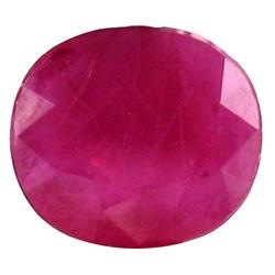1.26ct Sublime Pinkish Red Vietnamese Ruby Oval (GEM-19557B)