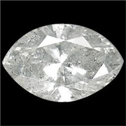 0.11ct Natural Brown/White Diamond Marquise (GEM-16164)