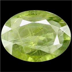 2.81ct Beautiful Light Green Natural Sapphire Oval (GEM-25259)