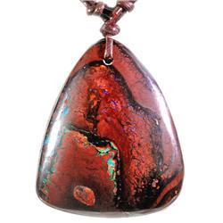 143.47ct Genuine Yowah Boulder Opal Pendant (JEW-1544)