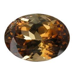 8.27ct VS Hot Imperial Orange Topaz Appraisal Estimate $16540 (GEM-26332)