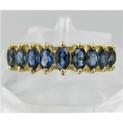 1.85ct Ceylon Blue Sapphire 10k Gold Ladies Ring (JEW-1767)
