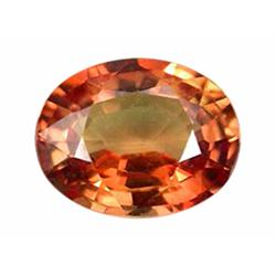 1.28ct Majestic Orange Oval Sapphire Songea (GEM-19827)