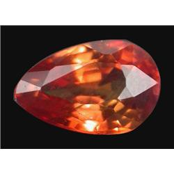1.18ct Dazzling Orange Pear Sapphire Songea (GEM-19806)