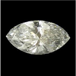 0.1ct White Diamond Hi Grade Marquise Cut (GEM-26190)