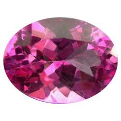 1.01ct Charming Mystic Pink Oval Topaz Appraisal Estimate $2525 (GEM-24276C)