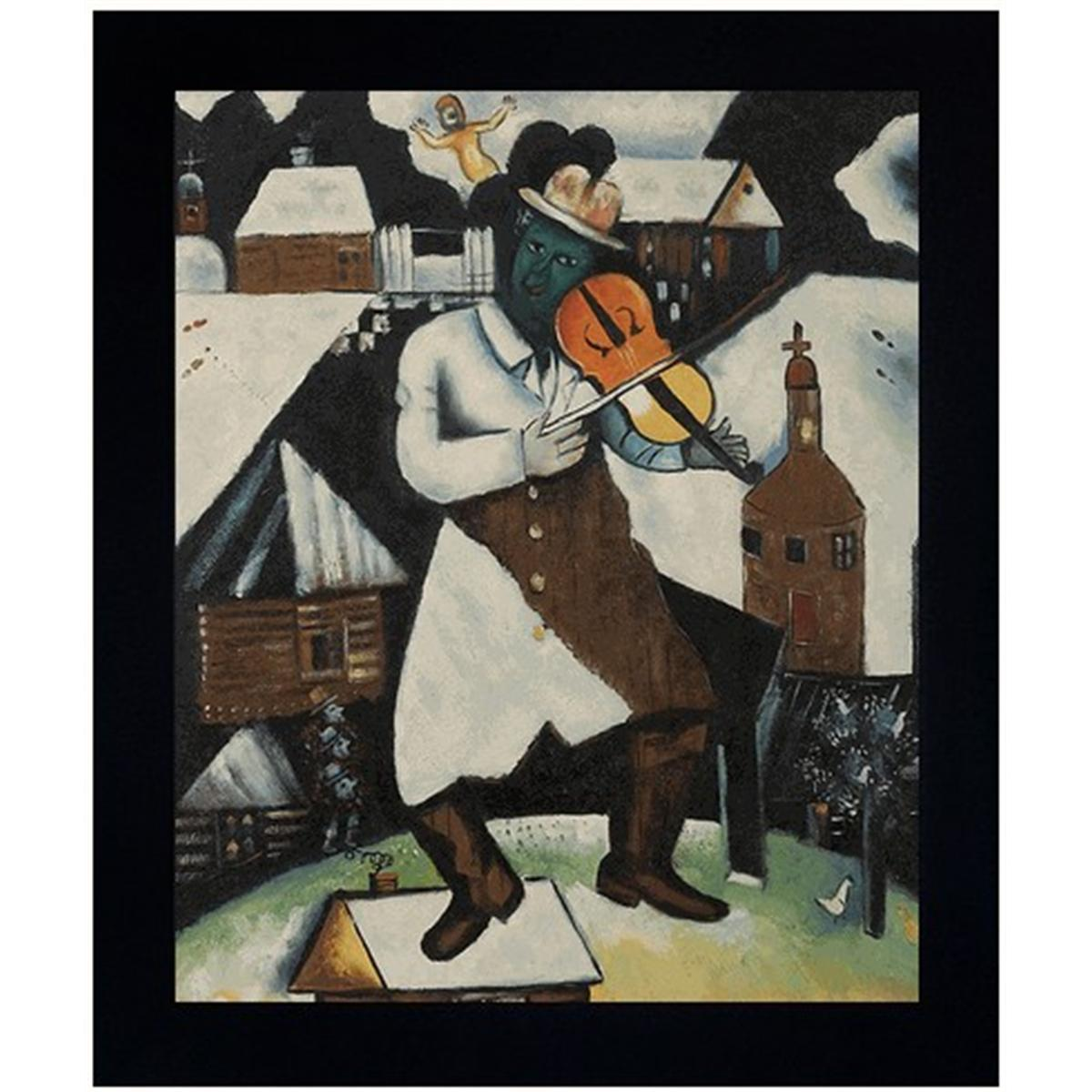 Chagall - The Violinist Oil Painting