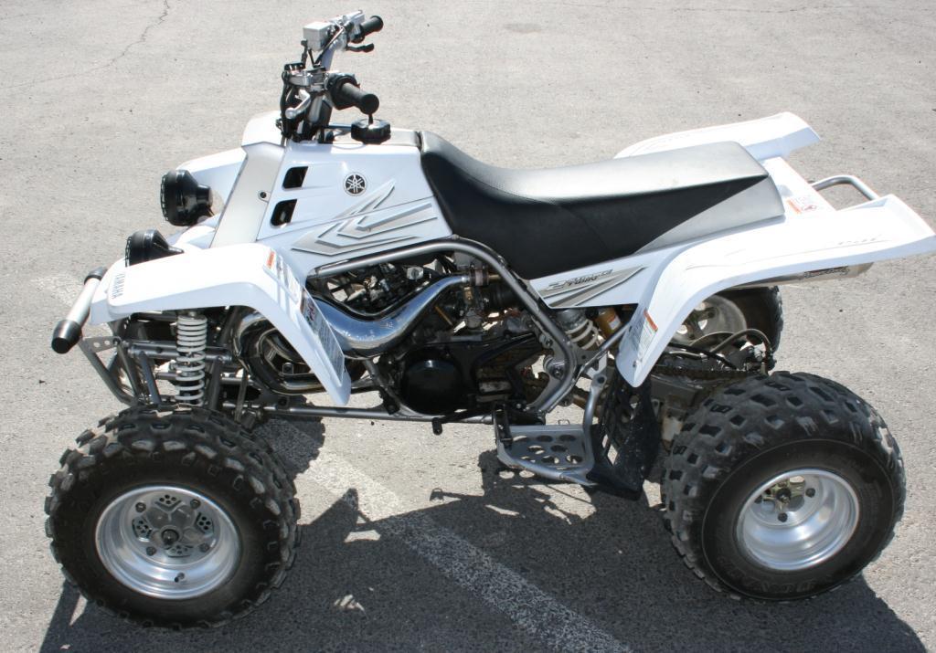 2005 Yamaha Banshee 350 (white)