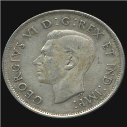1939 Canada Half Dollar Hi Grade AU+ RARE (COI-7023)