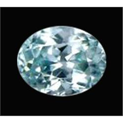 1.16ct Sky Blue Zircon Oval Facet Cambodia (GEM-20305A)