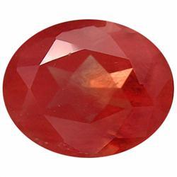 3.85ct Sparkling Natural Red Andesine Oval Appraisal Estimate $3080 (GEM-19620)