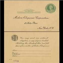 1914 US Martha Washington 1c Postcard Nice (STM-0633)