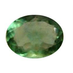 59ct Flourite Green Oval Cut Afghanastan (GEM-19218)