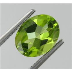 1.80ct Clean Forest Bright Green Natural Peridot Oval (GEM-18915)