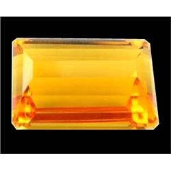 34.90ct Gold Yellow Citrine Natural Appraisal Estimate $6980 (GEM-24778)