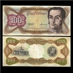 1981 Venezuela 100 Bolivares Hi Grade Note (CUR-05811)