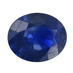 1.01ct Natural Royal Blue Ceylon Sapphire Oval Facet (GEM-18940)