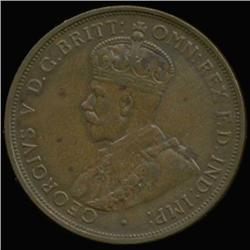 1933 Jersey 1/12 Shilling George V High Grade (COI-6951)