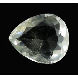15.16ct Ultimate Flawless Quartz Crystal Gem Pear Cut (GEM-21603)