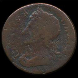 1675 Britain Charles II Farthing Circulated 335 YEARS OLD (COI-7063)