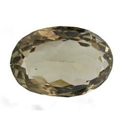 44.9ct Natural Smokey Quartz Oval Cut (GEM-21955)