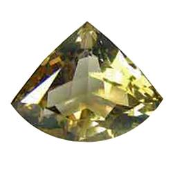5.60ct Lover Trillion Champagne AAA Topaz (GEM-22584B)
