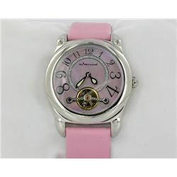 New Jeanneret Ladies Mother of Pearl Face Watch Retail $1,495 (WAT-149)