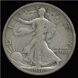 1916 Walking Liberty Half Dollar High Grade (COI-6347)