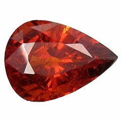 3.52ct Wonderful Natural Orange Red Spessartite Garnet (GEM-19623)