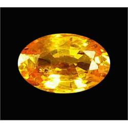 .45ct Natural Yellow Orange Songea Sapphire (GMR-1004A)