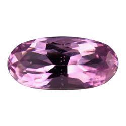 4.1ct Oval VVS Natural Patroke Pink Kunzite Afghanistan Appraisal Estimate $2050 (GEM-24579)