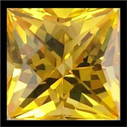 2.5mm Sublime AAA Yellow Sapphire Princess Cut (GMR-0580)