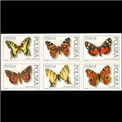 1991 Poland Block of 6 Different Mint (STM-0639)