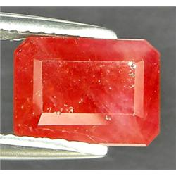 .35Ct Fancy Padparadsha Sapphire Emerald Cut (GMR-0853A)