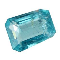 0.74ct Blue Green Rare Neon Natural Apatite  (GEM-25470)