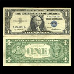 1957 $1 Silver Certificate Crisp Circulated (CUR-06021)