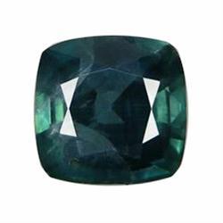 1.48ct Green Sapphire Cushion Facet (GEM-20295)