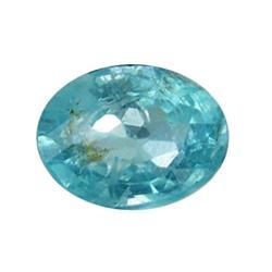 0.83ct Blue Green Rare Neon Natural Apatite  (GEM-25468)