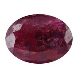 1.40ct Ruby Blood Red Oval Cut Afghanastan (GEM-17503)