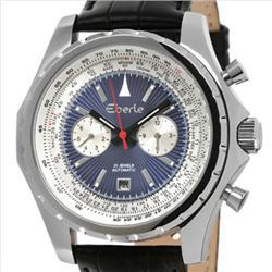 New Eberle Mens CHRONO Style Watch Retail $2595 (WAT-102)