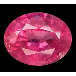.7ct Round Cut Mozambique Pink Red Ruby VS (GMR-0627)