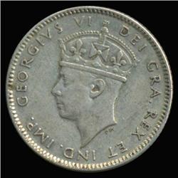1947 Canada Newfoundland 10c Silver Hi Grade RARE (COI-6744)