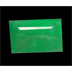 1.14ct Natural Mint Green Zambian Emerald Rectangle (GEM-22887)